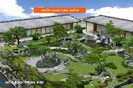 Hồ Koi Sân Vườn Nhà Phố15-25m2