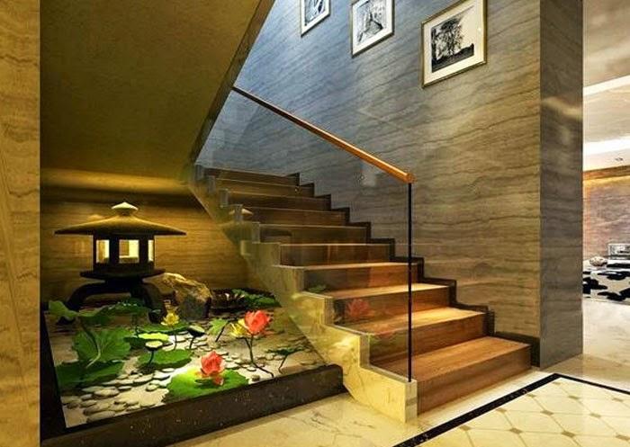 mẫu hồ cá koi trong nhà đẹp