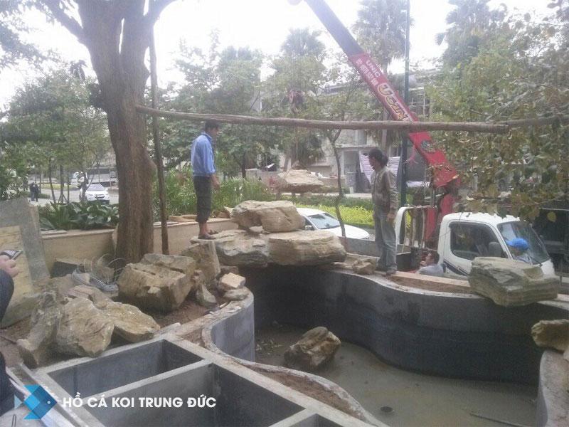 Thi công hồ cá koi tại thành phố Hồ Chí Minh 2
