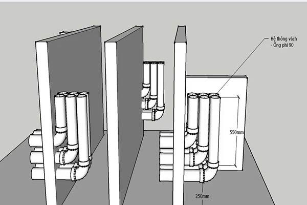 thiết kế hệ thống lọc hồ cá